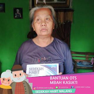 Mbah Kasiati : Bantuan OTS