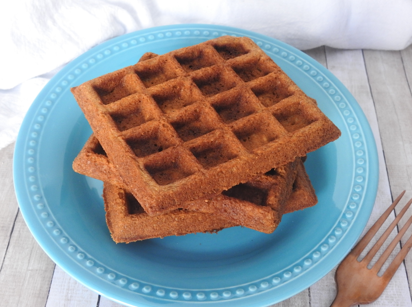 Gingerbread Buttermilk Belgian Waffles