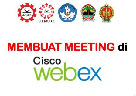 Cara Membuat Meeting Room di Cisco Webex