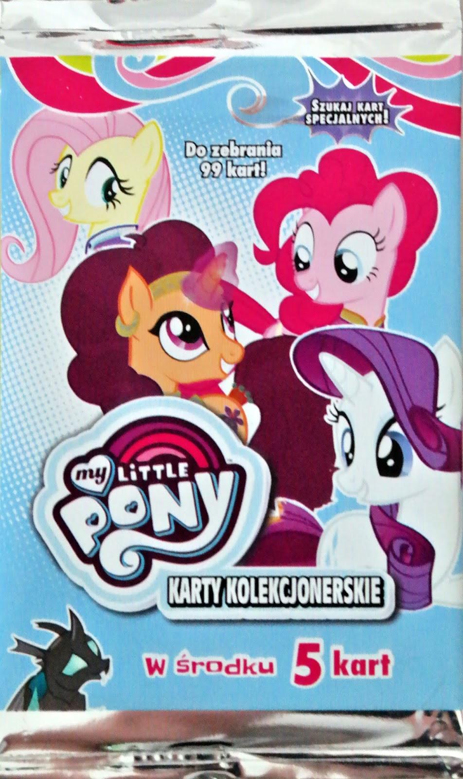 karty do albumu My Little Pony