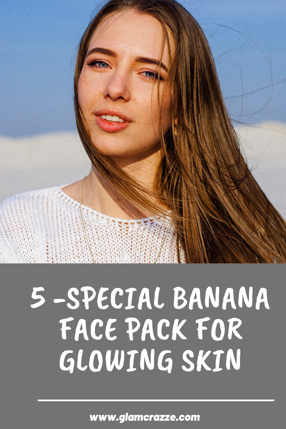 Banana face pack for glowing skin to try this winters