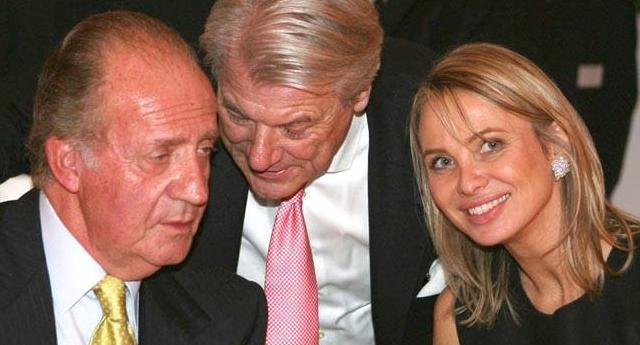 Amenazan con airear detalles de la relación entre Corinna y Juan Carlos