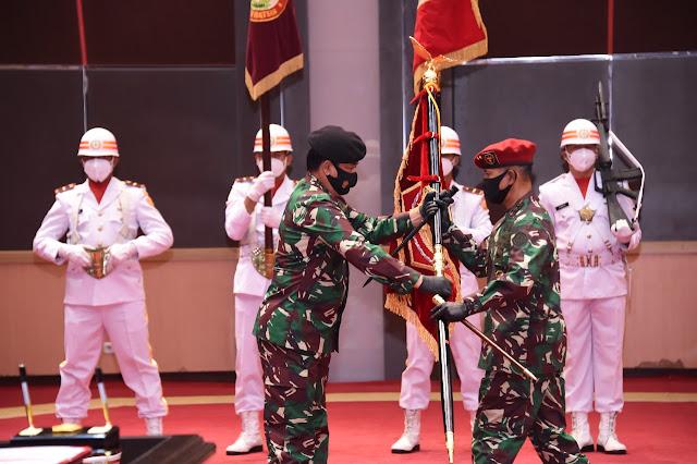 Panglima TNI Pimpin Sertijab Strategis Di lingkungan Mabes TNI