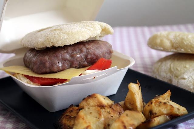 Pan cristal, pan ligero para bocadillos, sandwiches o hamburguesas