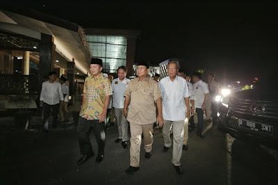 Prabowo Subianto Hadiri Halal Bihalal Partai Gerindra Lampung