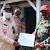 Wagub Jabar Uu, Tinjau Lokasi Banjir Di Kabupaten Indramayu