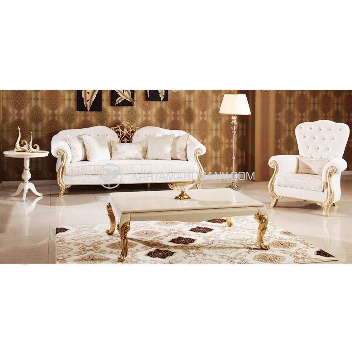 Sofa Ukir Mewah Untuk Ruang Tamu