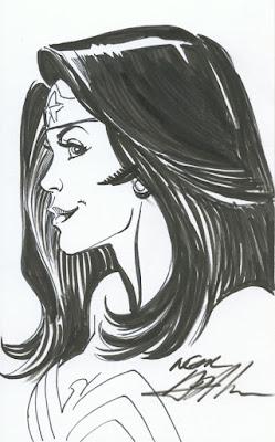 WonderWoman portrait by Neal Adams
