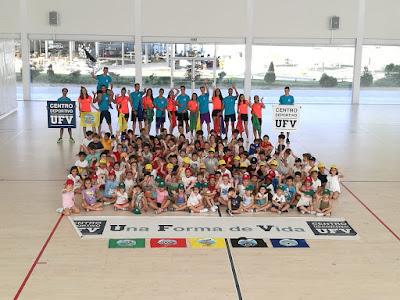 Campamento Deportivo de Verano Centro Deportivo UFV Madrid