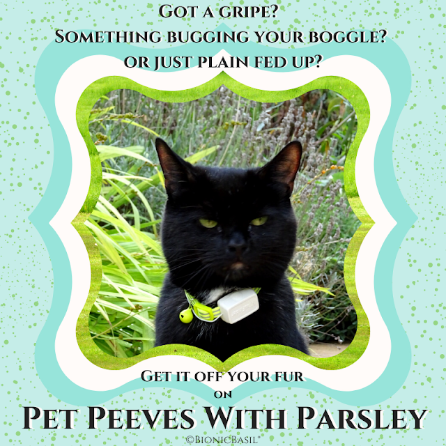 Pet Peeves with Parsley Banner ©BionicBasil®