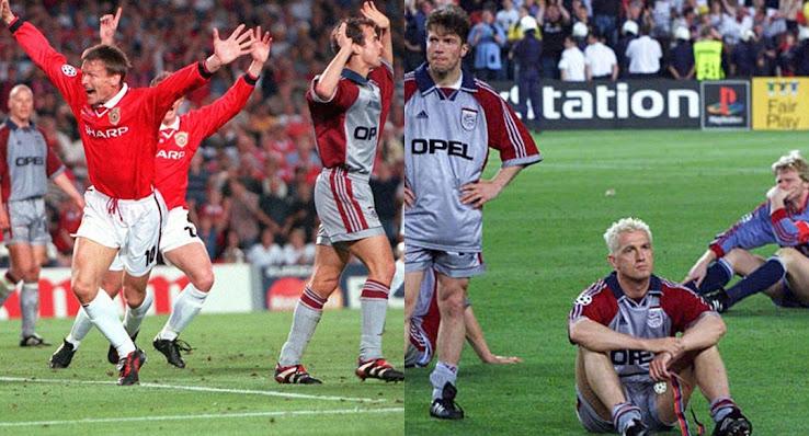 FC Bayern Trikots vs Manchester