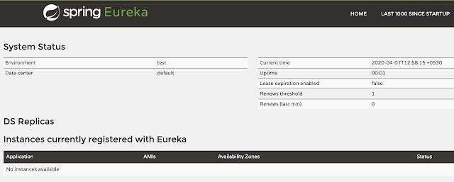 Eureka server