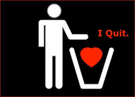 loveviawords: I Quit