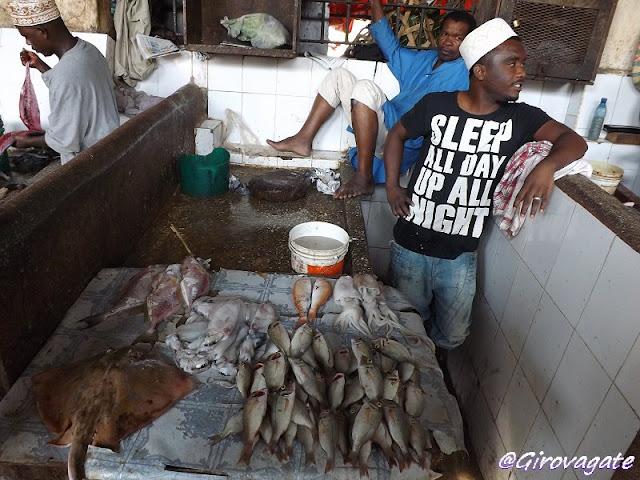 mercato pesce Zanzibar Stone Town