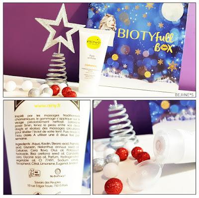 "BIOTYfull Box ""La Festive"" gommage aïny"