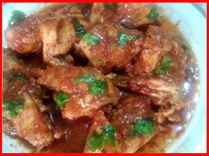 Chicken Makhdoom Saudi Food Recipe