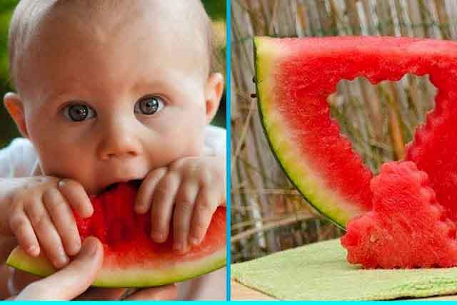 فوائد البطيخ للرضيع