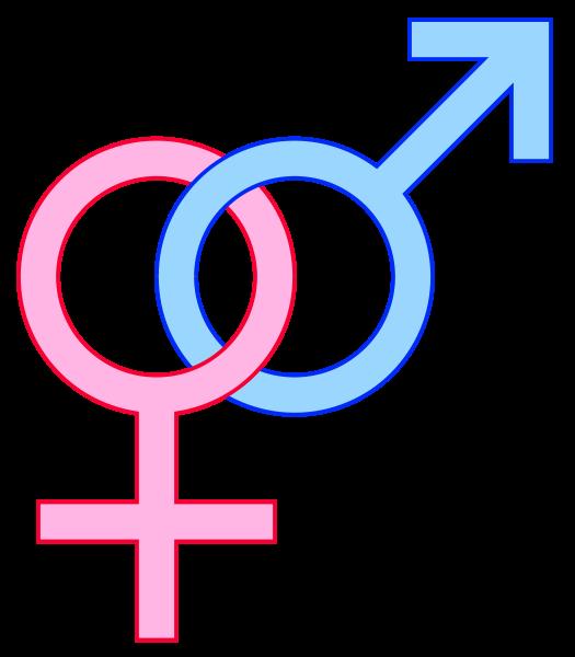 Heterosexual simbolo