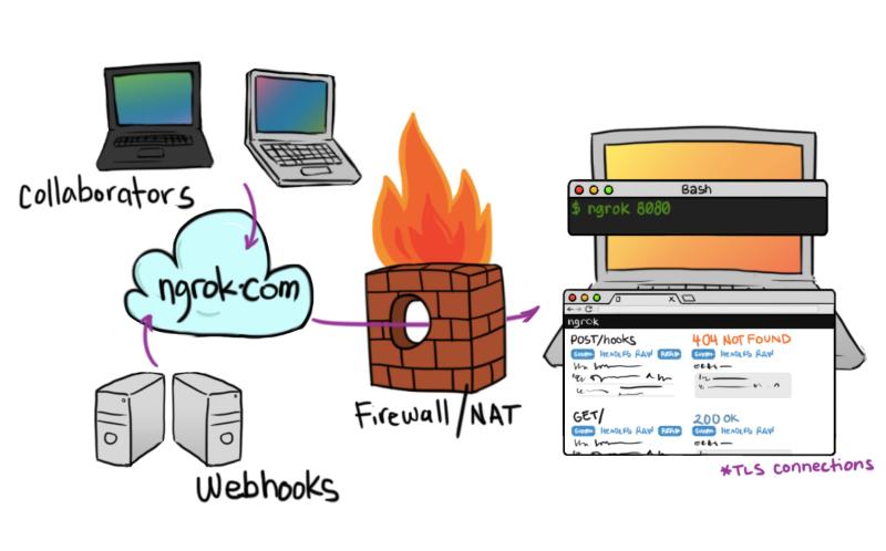 Akses Server Localhost dari Internet Menggunakan Ngrok
