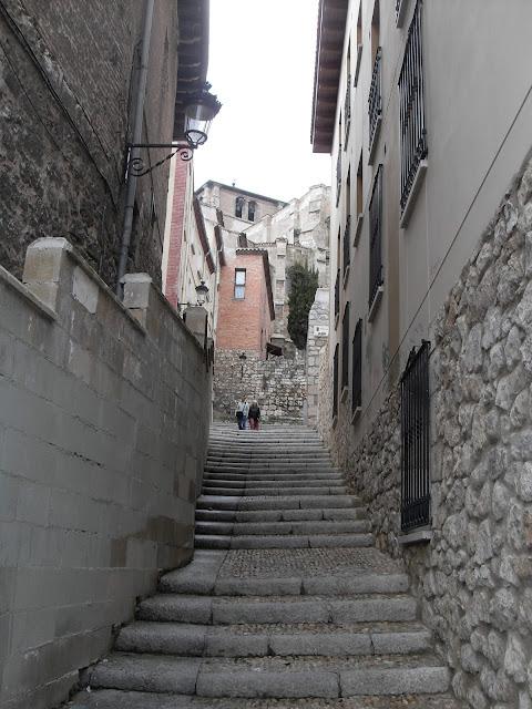 Callejones del casco antiguo de Burgos