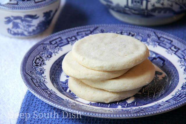 Old fashioned, authentic southern tea cakes are basic, simple sugar cookies in their list of ingredients - butter, sugar, flour and eggs - but they speak so much more to our history, heritage and memories.