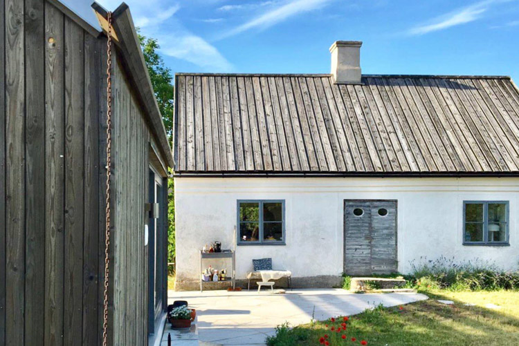 A Rustic Summer Cottage On The Swedish Island of Gotland