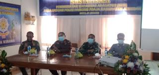 Letkol Inf. Hasrifuddin Haruna berikan materi Bela Negara dan Wawasan Kebangsaan kepada Satpol PP Jembrana