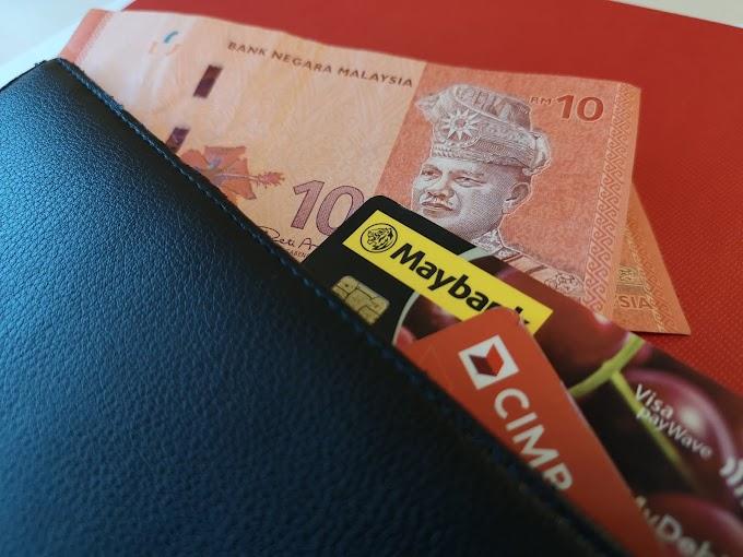 Antara Tunai, Kad Debit, Kad Kredit Dan E-Wallet