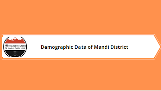Demographic Data of Mandi District