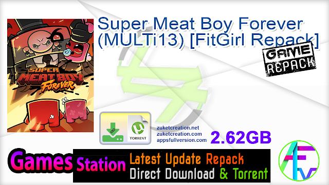 Super Meat Boy Forever (MULTi13) [FitGirl Repack]