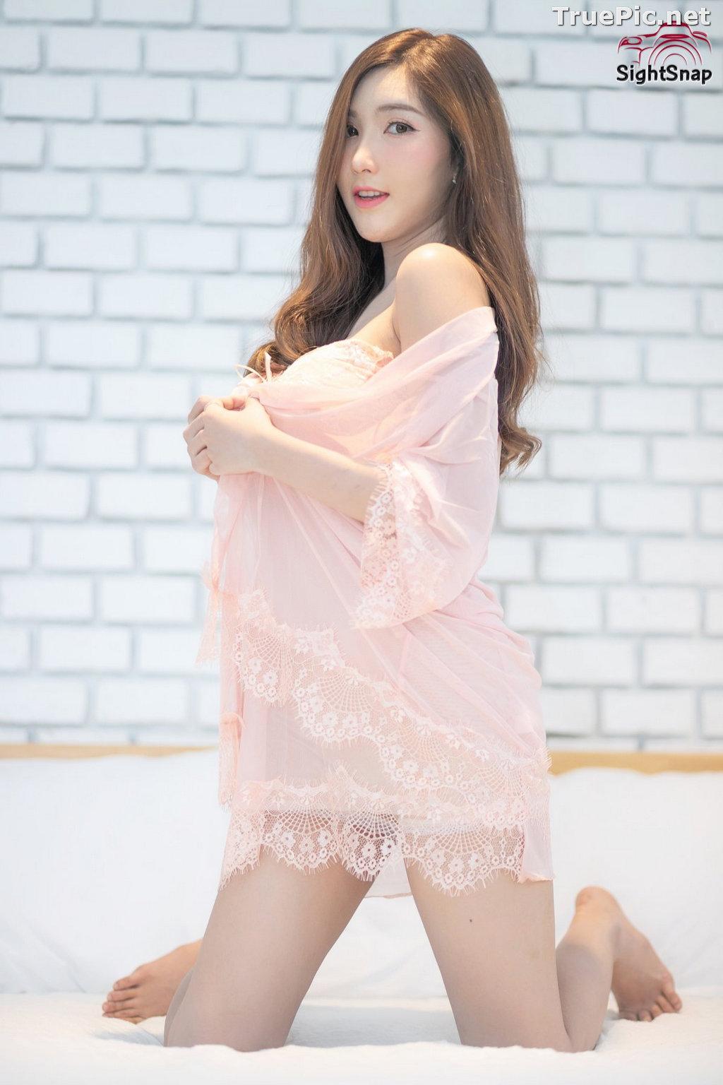 Image Thailand Model - Luc Kie - Nice Pink Love Night Dress - TruePic.net - Picture-3