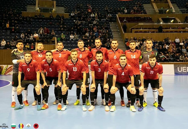 Albania qualified for the Elite Round in Indoor Football in Bulgaria