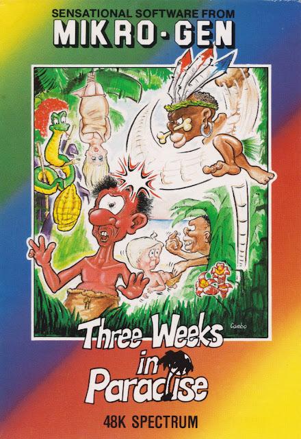 Portada videojuego Three Weeks in Paradise