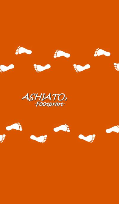 ASHIATO2 -Footprint-Orange color ver.