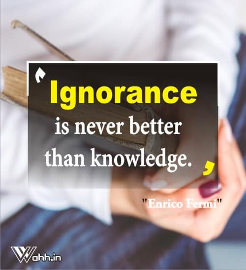 Enrico-Fermi-ignorance-quotes