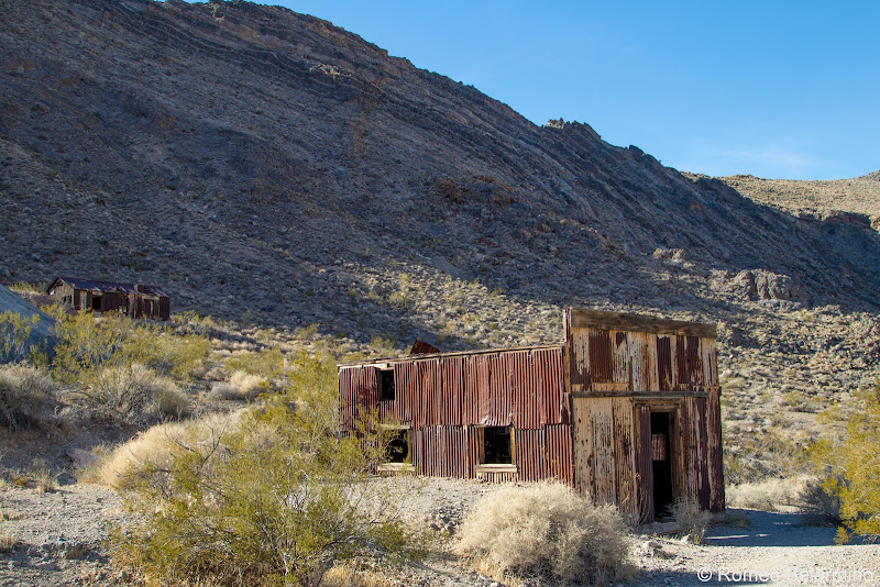 Leadfield Ghost Town Titus Canyon Death Valley Road Trip Itinerary