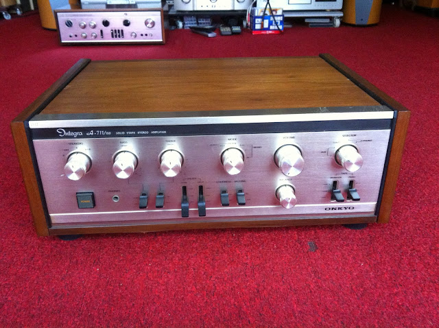 Amply ONKYO A-711/150 - Made in Japan