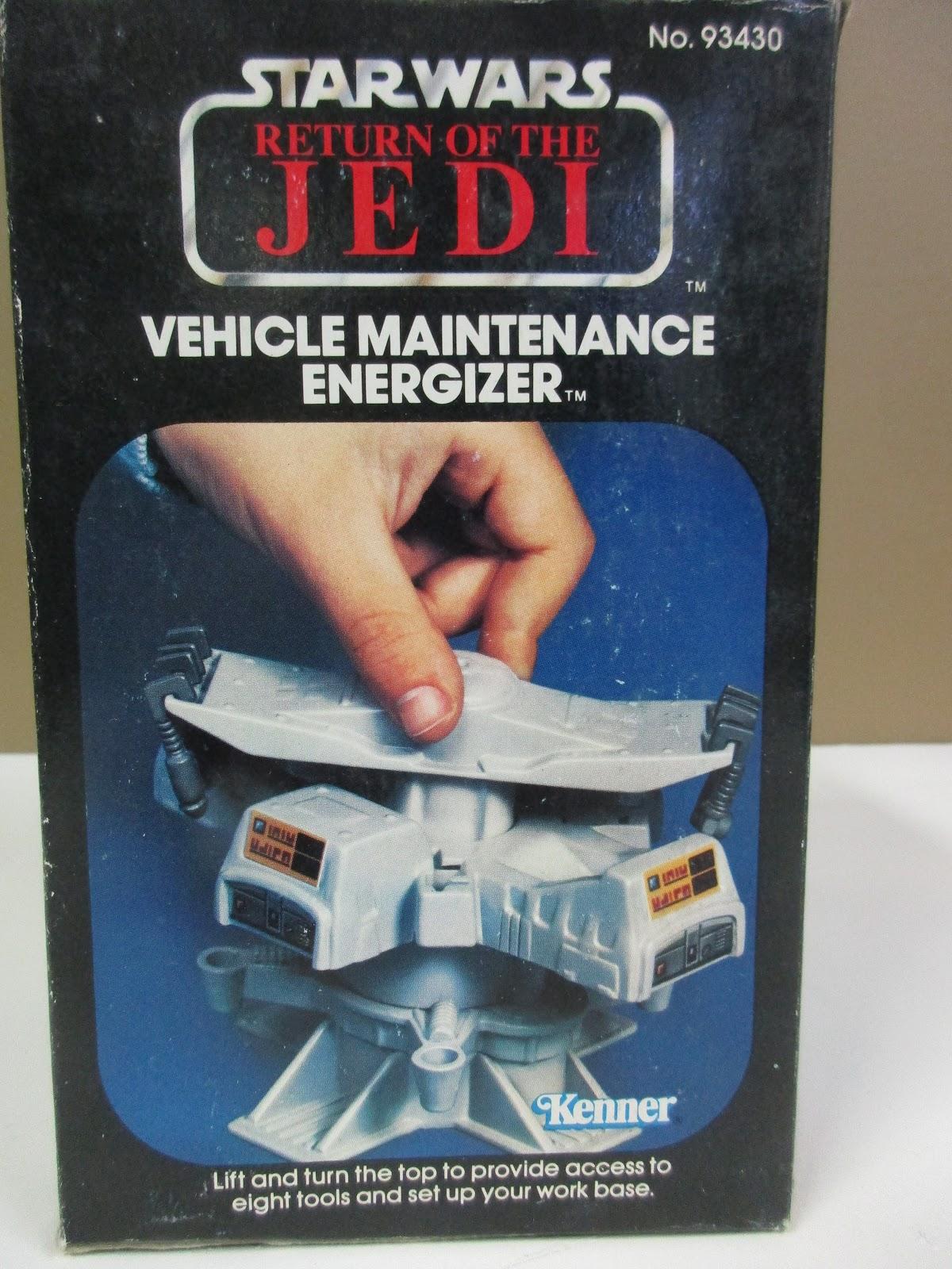 Vintage Star Wars vehicle maintenance energizer outil scie pièce de rechange Générateur