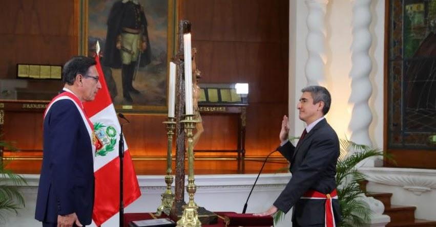 Alejandro Neyra Sánchez juramentó como nuevo Ministro de Cultura