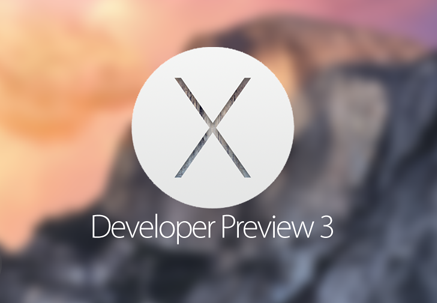 Download OS X 10.10 Yosemite Developer Preview 3 (14A283o) .DMG File via Direct Links