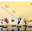 Bộ mô hình Set figure Dragon Ball nhân vật WCF