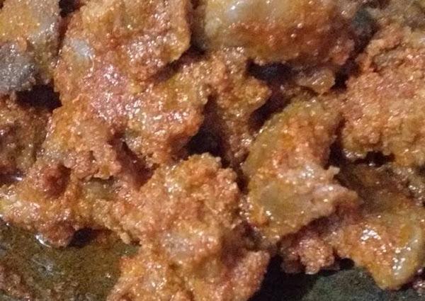 Daging sambal goreng santan