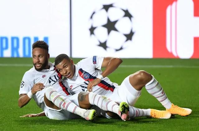 Mbappe and Neymar