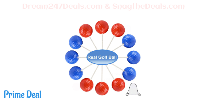 50%OFF Outdoor Ladder Ball Game Set Bola Balls for Ladder Toss Game (6 Pack)