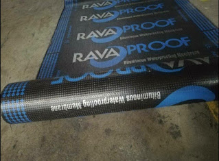 Material Ravaroof Waterproofing