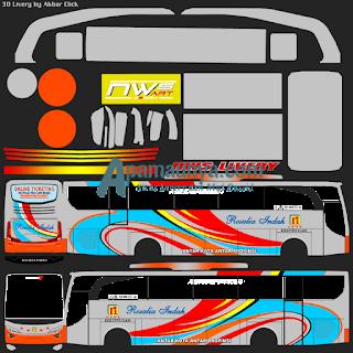 Livery bus jbhd 2 rosalia indah