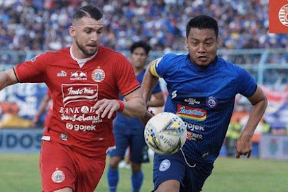 Hasil Pertandingan Liga 1, Arema FC vs Persija Jakarta Berahir Imbang 1-1
