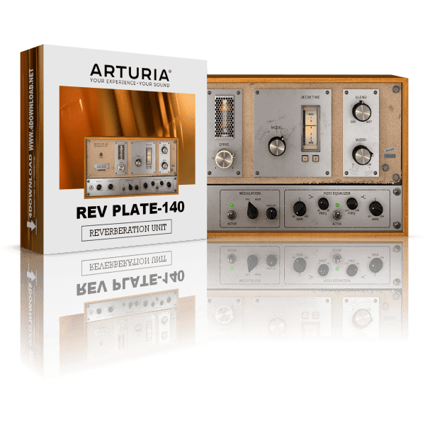 Arturia Rev PLATE-140 v1.0.0 Full version