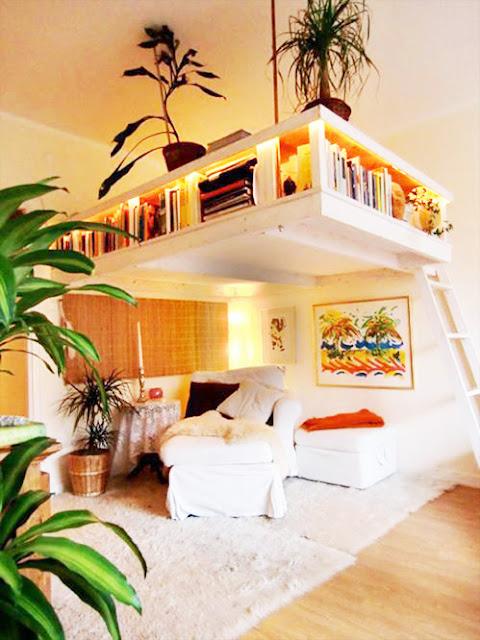 créer une mezzanine originale pour petits espaces et gain de place