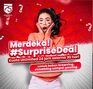 Paket Surprise Deal Unlimited Telkomsel